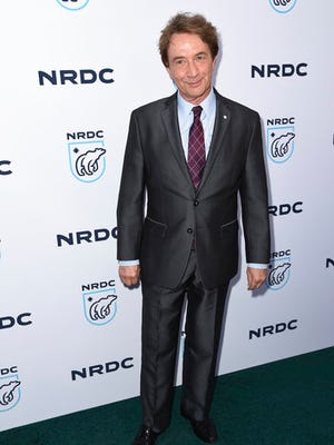 "Martin Short arrives at the ""STAND UP! for the Planet"" benefit at the Wallis Annenberg Center for the Performing Arts on Tuesday, April 25, 2017, in Beverly Hills, Calif."