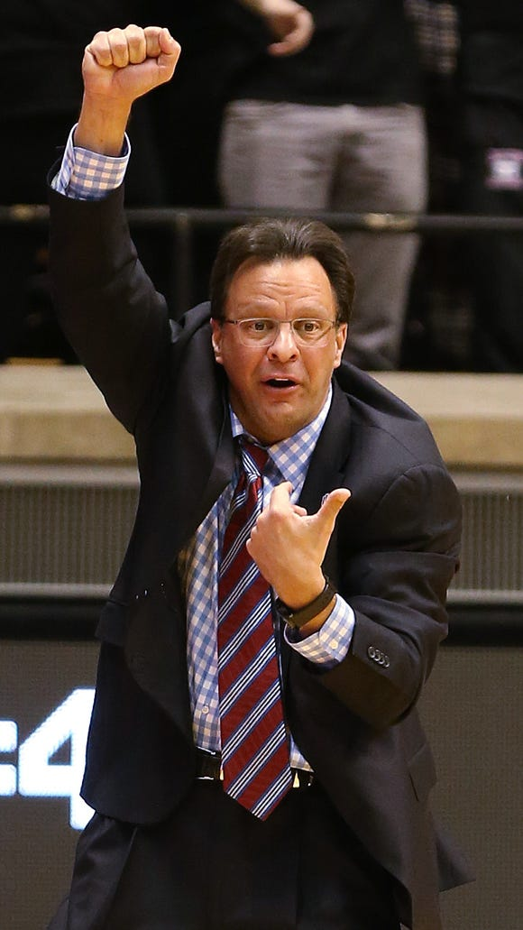 IU coach Tom Crean (pictured) and his Hoosiers have