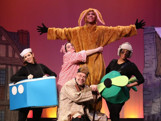 "Pushcart Players' ""The Velveteen Rabbit."""