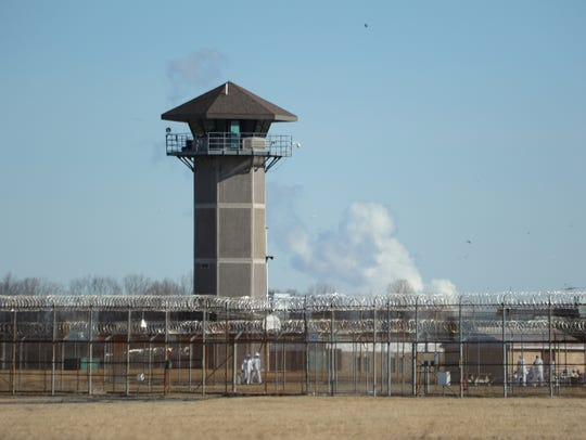 James T. Vaughn Correctional Center near Smyrna, where inmates stormed a building and killed a correctional officer in February 2017.