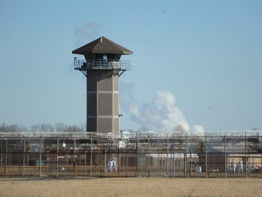 James T. Vaughn Correctional Center near Smyrna, where