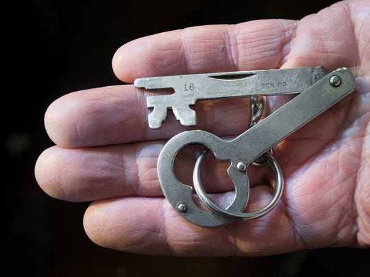 The key to the front door of the Gatchellville Store