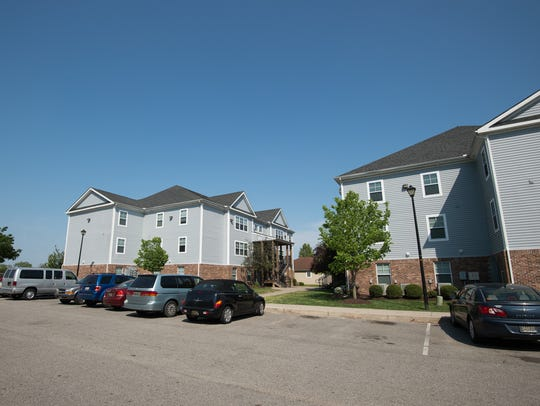 Brightway Commons apartment complex in Milford where