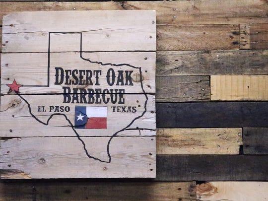 Desert Oak Barbecue opened last August at 1320 N. Zarazoza Road.