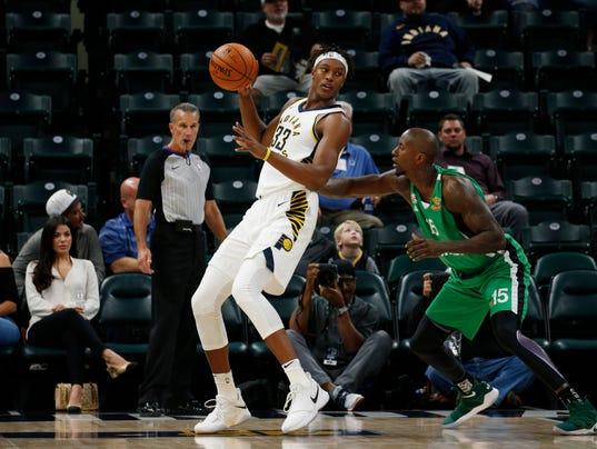 NBA: Preseason-Maccabi Haifa B.C. at Indiana Pacers
