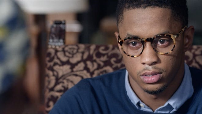 "Keith Stone plays Mike, a fictional senior at a New England college who is arrested for a crime he did not commit, in ""1 Angry Black Man,"" being screened through Martha's Vineyard Film Society's virtual Film Center at Home program."
