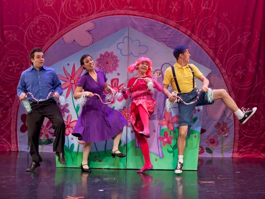 """A scene from Vital Theatre's """"Pinkalicious: The Musical."""""""