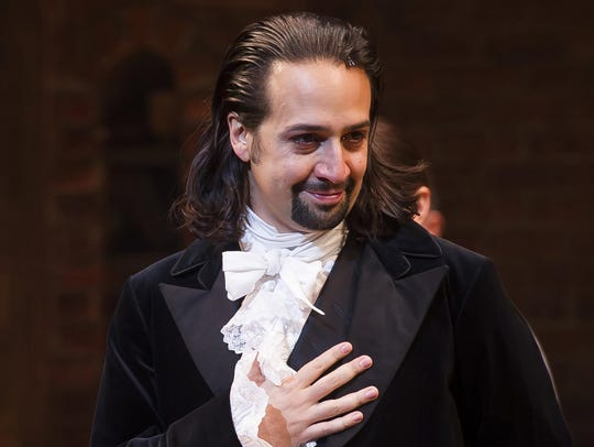 In this Aug. 6, 2015, file photo, Lin-Manuel Miranda