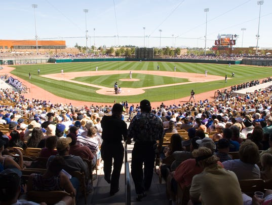 los angeles dodgers  spring training schedule