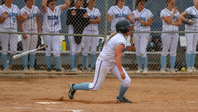 Kaylie Radwich hit a two-run homer in the bottom of the eighth to give Ventura a 6-4 win over Yucaipa in a Division 2 quarterfinal game Thursday.