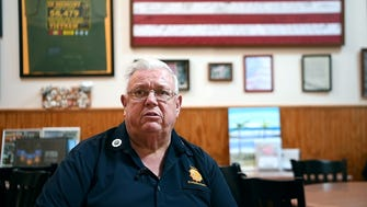 Bob Salvini, the commander of American Legion Post 170 in Rochelle Park, will not be showing the games of NFL teams whose players kneel for the national anthem.