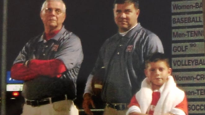 From left to right are Paul Stanley, his son, Jason Stanley and Jason's son, Jacob, seen during a past Hendersonville High football season. Both Paul Stanely and Jason Stanley were assistants on the team.