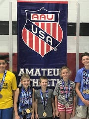Five Michigan Matcats earned AAU Grand National All-American