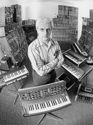 Robert Moog and his iconic electronic instruments will be celebrated in Trumansburg on Sunday.