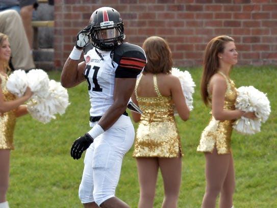 Southeast Missouri State linebacker Kendall Donnerson