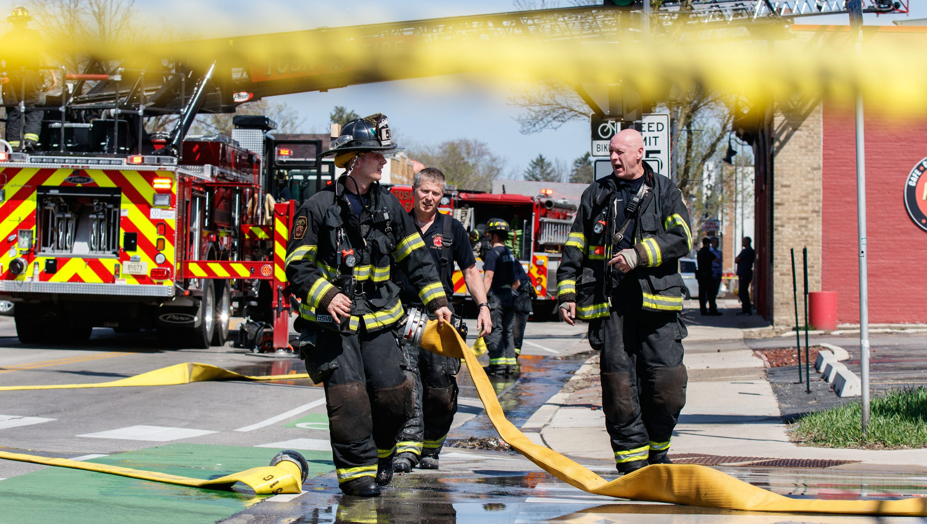 Fire Reported In Wauwatosa At Red Dot
