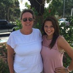 Darcie McGee has been mentoring Rockledge High School student Shauna Smith for five years through the Take Stock in Children program.