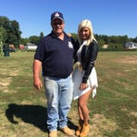 """Jax and her journey on """"American Idol"""" are the subject of this year's corn maze at VonThun's Farm in South Brunswick. The fall season for the farm kicks off Saturday."""