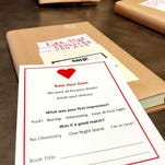 """In honor of Library Lovers' Month in February the Weaver Library at Great Falls College MSU is offering """"blind dates"""" with a book."""