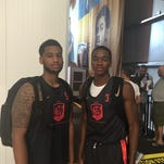 Xavier's Trevon Bluiett (left) and Edmond Sumner were among 20 college players invited to the elite Nike Basketball Academy in Los Angeles. It concluded Wednesday.