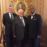 La. Pentecostal preacher opens US Senate with prayer