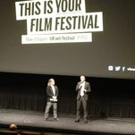 Ole Giaever, director of Out of Nature, speaks before the movie's world premier at the Toronto International Film Festival on September 6.