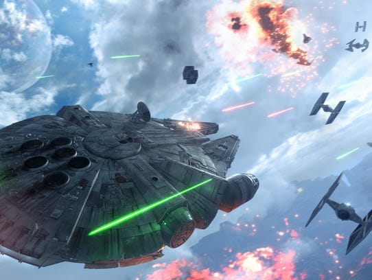 """""""Star Wars: Battlefront"""" is the hot new game of the"""