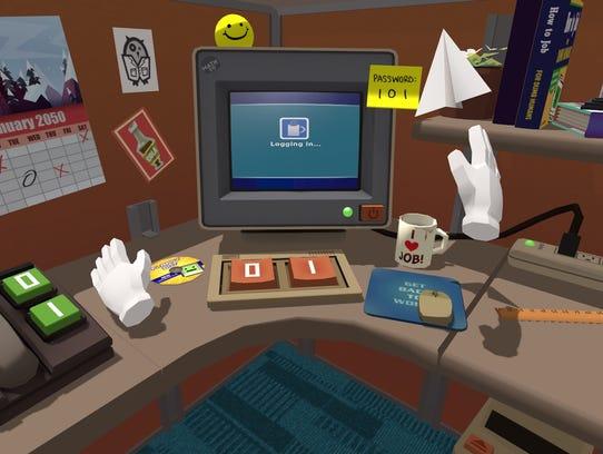 A virtual Vive office
