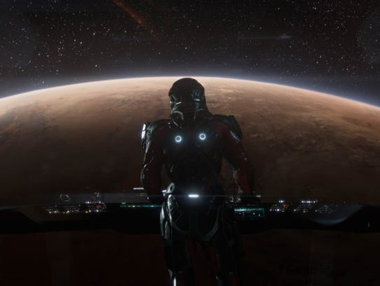 A scene from 'Mass Effect Andromeda.'