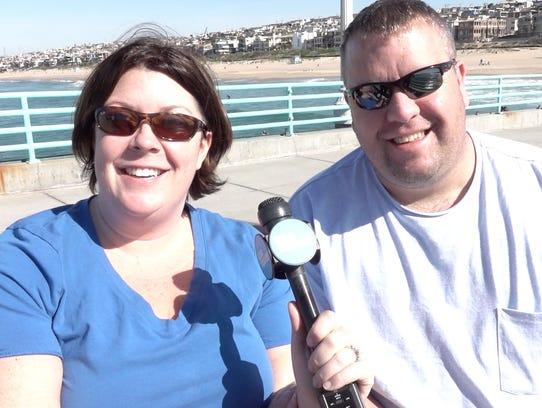 Michelle and Ben Brandt of Cleveland were interviewed