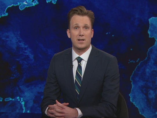 "Jordan Klepper of ""The Daily Show."""