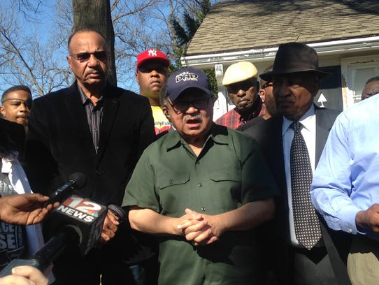 City, state and community leaders gather to speak out