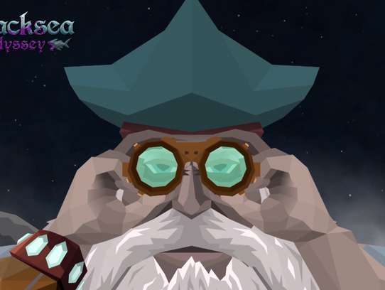 The 'Blacksea Odyssey' video game, created by Percy
