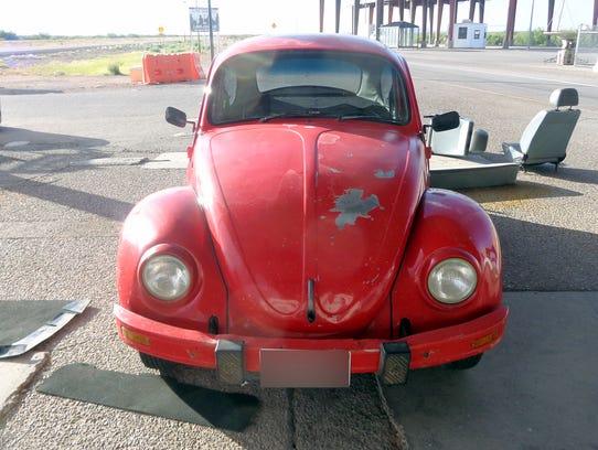 Volkswagen El Paso West >> VW bug carried marijuana into Dona Ana