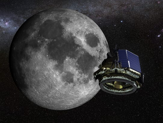 Artist rendering of lunar lander being developed privately