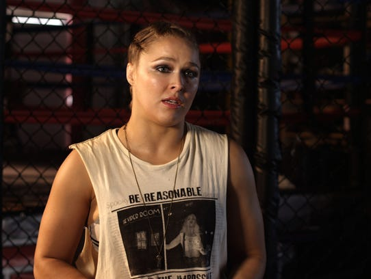 Ronda Rousey in 'The Hurt Business'
