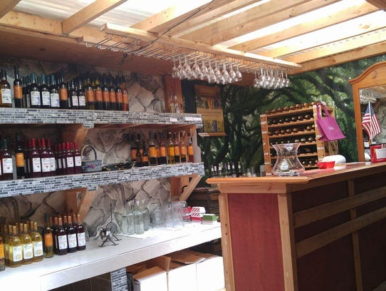 Vineyard tours and wine sampling are available year-round