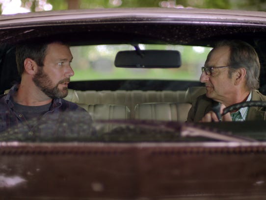 "Jon Dore, left and David Paymer  in ""The Pickle Recipe."""