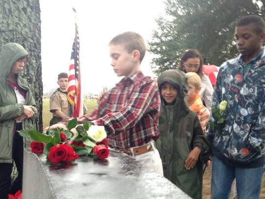 Dozens came out to the 30th Annual Memorial Service