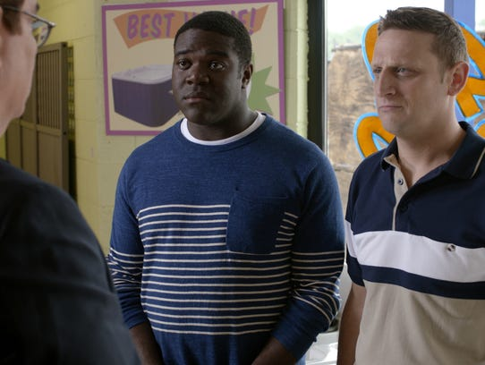 From left: Sam Richardson and Tim Robinson of Comedy