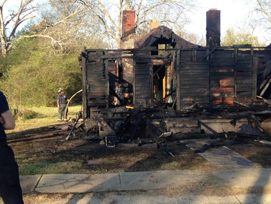 MFD responds to vacant structure fire on Myles Street
