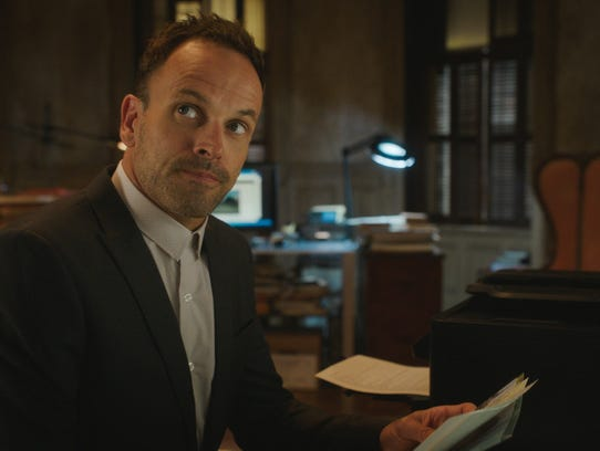 Jonny Lee Miller is Sherlock Holmes in 'Elementary.'