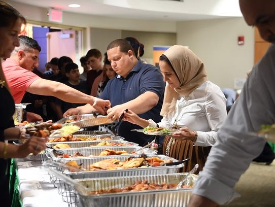 St. Joseph's Regional Medical Center hosted an iftar