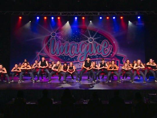 Prestige Dance Academy's Elite Company Dancers finished