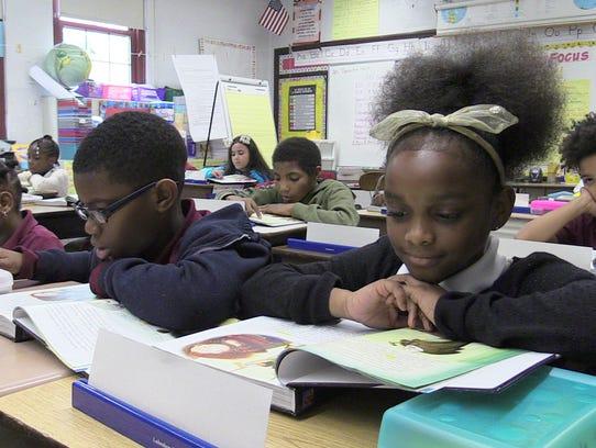 In five years,Rebecca Turner Elementary School has