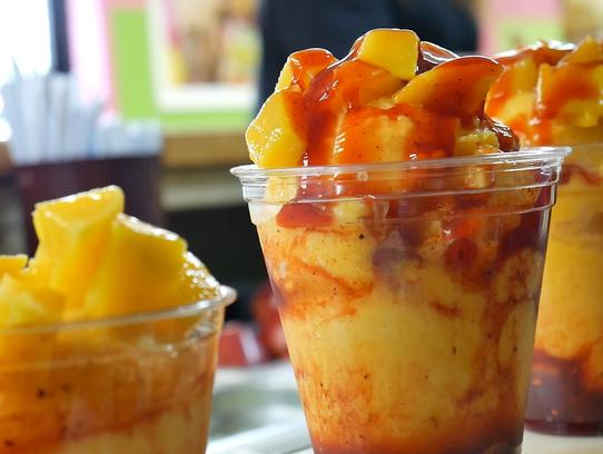 The mangonada is a top-seller at Panchitos Ice Cream.