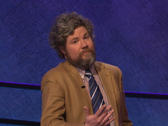 Quirky Jeopardy! champ Austin Rogers grew up in Pound