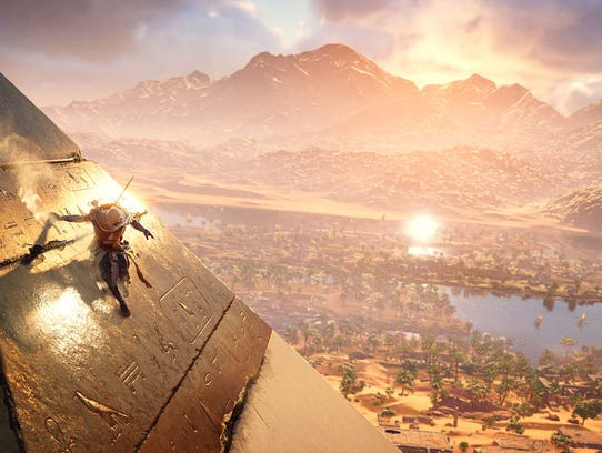 Assassin's Creed Origins for PC, PS4 and Xbox One.