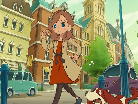 Layton's Mystery Journey: Katrielle and the Millionaire's
