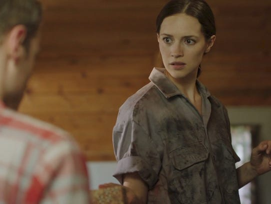 Alex finds the puzzle box in the new film, Solver,